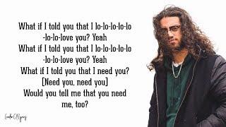 Download lagu Ali Gatie - What If I Told You That I Love You (Lyrics) 💔