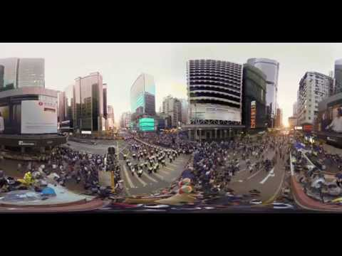 Hong Kong Unrest - a 360° Virtual Reality Documentary