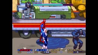Spider-Man the Videogame (Arcade) co-op pt1