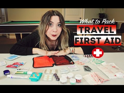 What To Pack : TRAVEL FIRST AID KIT