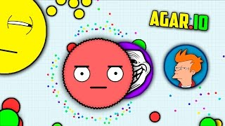 TROLLING PEOPLE IN AGARIO (FUNNY MOMENTS) | AGAR.IO | АГАРИО