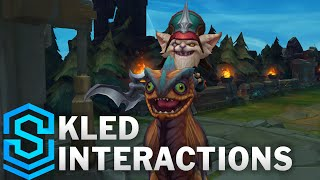 Kled Special Interactions