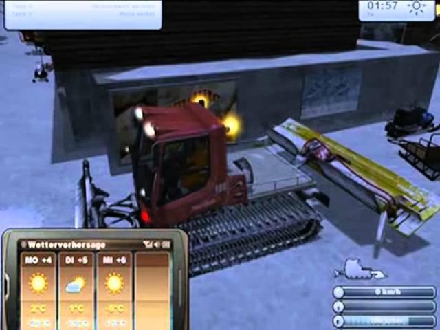 Nemluvený tutoriál ke hře Ski-region simulátor 2012 (czech)
