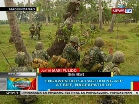BP: AFP, target na tapusin bukas ang opensiba laban sa BIFF