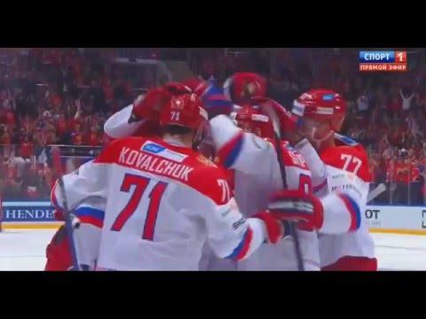 Россия 8-1 Финляндия   Кубок Первого Канала 2015   Обзор матча