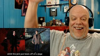 "REACTION VIDEO | ""ERB of History: Stephen King vs Edgar Allan Poe"" - Horror Rhymes!"