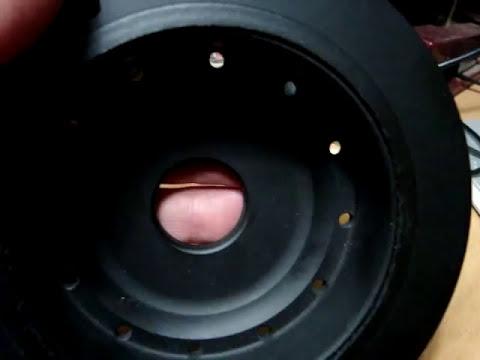 La polea damper del cigüeñal de Nissan Platina