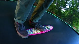 WORST TRAMP SKATEBOARD EVER?!