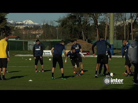 ALLENAMENTO INTER REAL AUDIO 06 03 2014