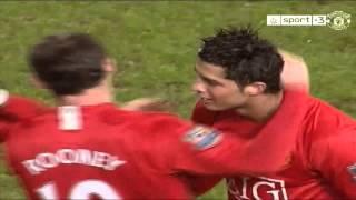 Gol de falta de Cristiano Ronaldo al Portsmouth HD