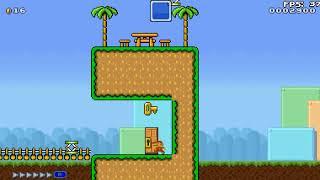 Completando la torre de los desafios - Super Mario 4 Jugadores (beta)   Parte 1
