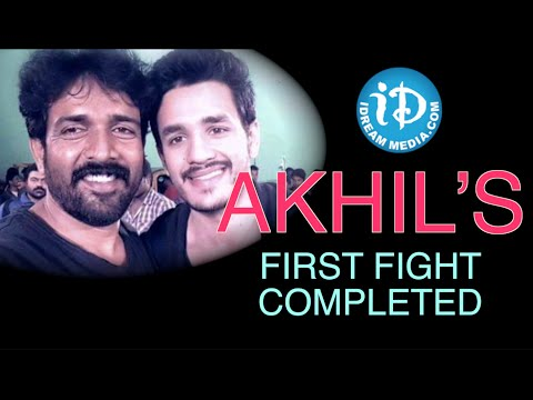 Akhil's Movie first Schedule completed | VV Vinayak | Sayesha Saigal – TOLLYWOOD TALES Photo Image Pic