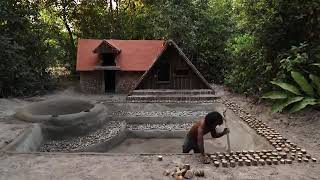 #ExploreTheWorld Building The Most Amazing Swimming Pool In Front Of Wonderful Ancient ...YouTube