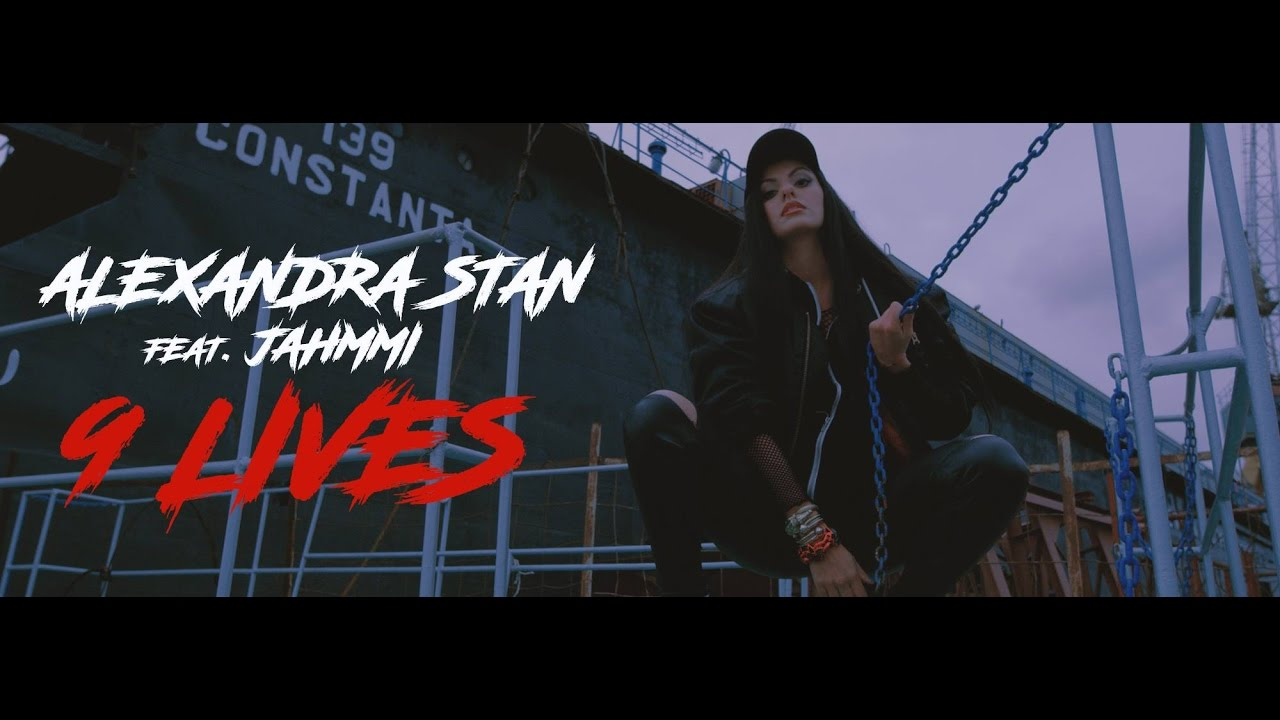 Alexandra Stan featuring Jahmmi - 9 LIVES  (Official Video)