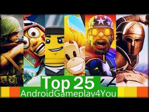 Top 25 Best Free Android Games 2013! [Game For Kids]