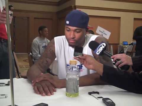 DeMarcus Cousins 2010 NBA Combine Video
