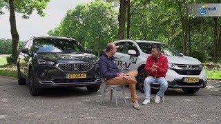 ANWB Dubbeltest Honda CR-V Hybrid vs. Seat Tarraco 2019 (IDEALE ZEVENZITTERS?)