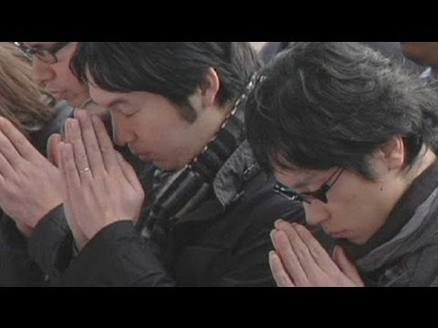 Workers pray for business success in Japan - no comment