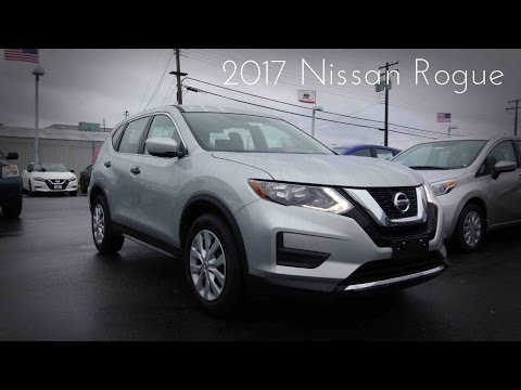 2017 Nissan Rogue S 2.5 L 4-Cylinder Review