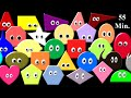 Shapes & Colors Collection - Shape Song & More - The Kids' Picture Show (Fun & Educational)