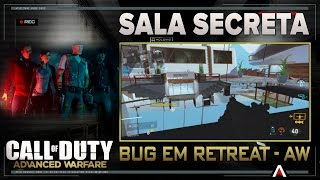 CALL OF DUTY AW- Sala Secreta- Bug em Retreat