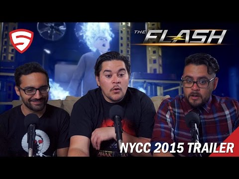 The Flash 2015 New York Comic-Con Sizzle Reel Reaction!
