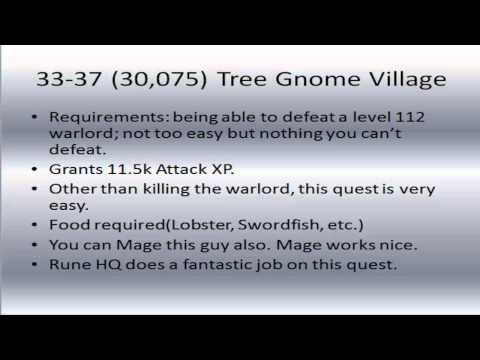 Ultimate 1-60 Attack Guide | 2007 Runescape