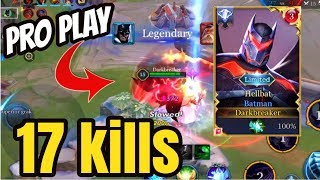 BEST BATMAN GAMEPLAY? 17 KILLS SOLO CARRY! | AoV | 傳說對決 | RoV | Liên Quân Mobile | 펜타스톰