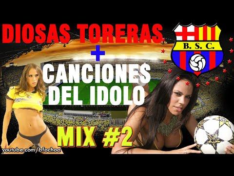Barcelona Sporting Club - Canciones (fotos de modelos)