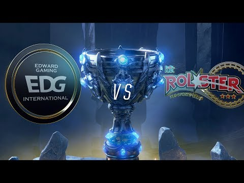 EDG vs KT | Worlds Group Stage Day 7 | Edward Gaming vs kt Rolster (2018)