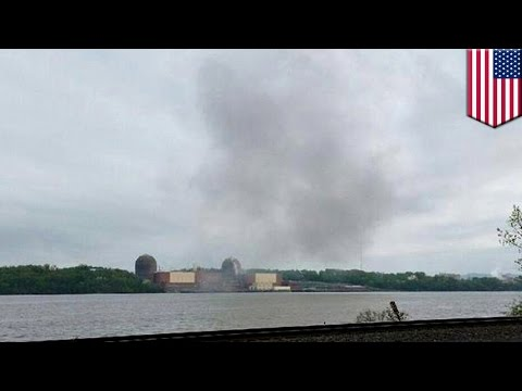 Nuclear power plant explosion: New York nuclear reactor shut down after fire - TomoNews