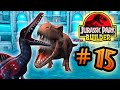 Jurassic Park Builder: Tournament: Part 15 HD T.rex Vs Spino