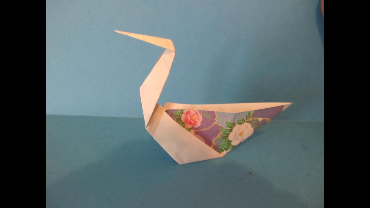 origami swan instructions youtube - DriverLayer Search Engine - photo#31