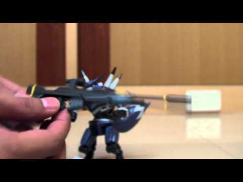 Level 5 / Bandai : Danball Senki - LBX-05 Hunter ダンボール戦機 Review