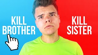 WORLDS MOST IMPOSSIBLE QUESTIONS! (Would You Rather Challenge)