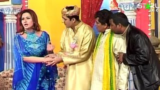 Best Of Tahir Anjum and Nargis New Pakistani Stage Drama Full Comedy Funny Clip