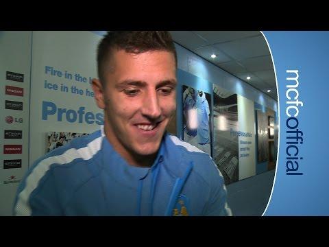 GOALSCORER JOVETIC ON WIN | City 3-1 Liverpool Stevan Jovetic Reaction