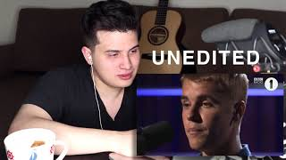 """Vocal Coach Reaction to Justin Bieber Singing Cold Water """"Live"""""""