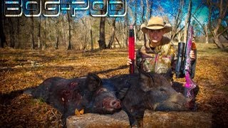Sarah's hog hunt with Howa 7mm.08 and Burris Eliminator