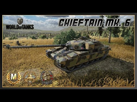 World of Tanks // Chieftain Mk. 6 // Ace Tanker // Confederate // Xbox One