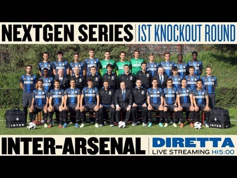NextGen Series: Inter - Arsenal LIVE STREAMING 6.3.2013 h 15:00 CET