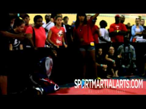 Morgan Plowden v Chelsey Nash - 2013 US Open ISKA World M.A. Championships - Eliminations