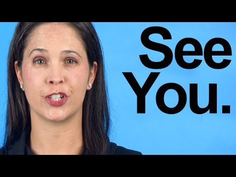 How to Pronounce SEE YOU – American English