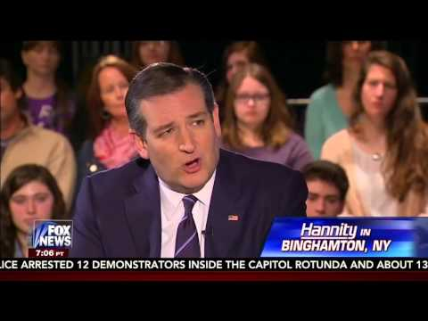 Ted Cruz Town Hall with Sean Hannity | April 14, 2016