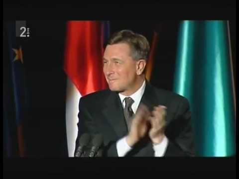 Borut Pahor brez besed - 300. obletnica tolminskega punta