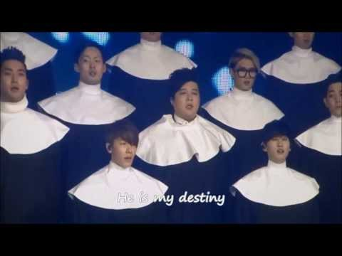 [eng Sub] Super Junior I Will Follow Him 131228 video