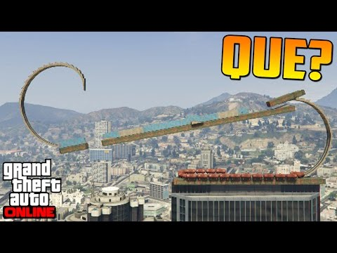 Que Es Esto?! Cuidado SeÑor! - Gameplay Gta 5 Online Funny Moments (carrera Gta V Ps4) video