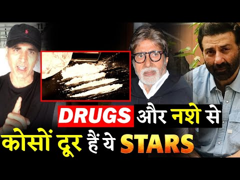 These Bollywood Stars Stay Away From Alcohol And Narcotics