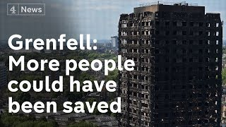 Grenfell inquiry report accuses fire brigade of 'serious shortcomings'