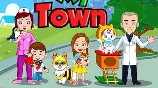 Spiel mit Haustieren - My Town Pets 🐇 🐕 🐈 Beste Kinder Apps